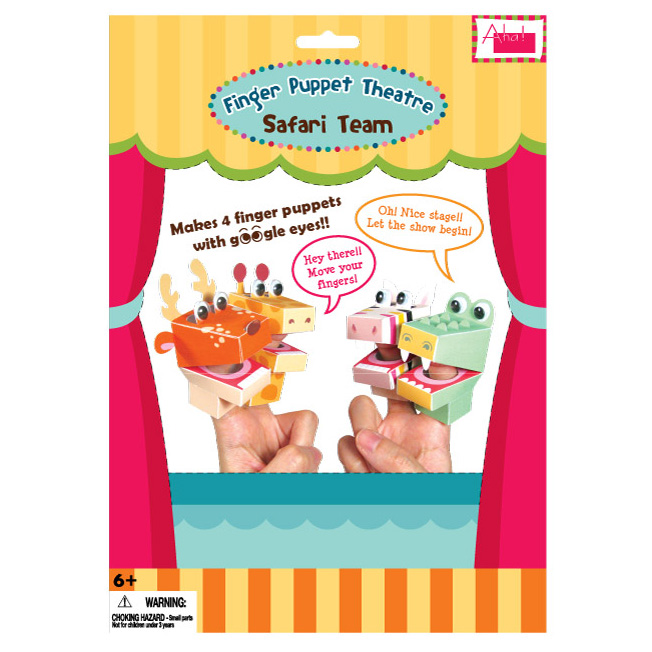 DIY Finger Puppet Theatre