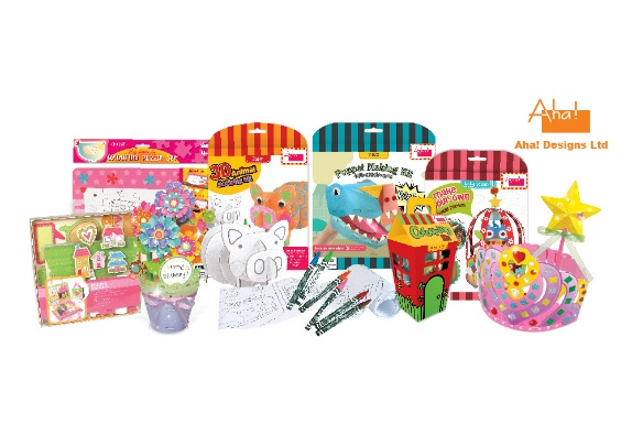 Educational toys and stationery developed by Aha! Designs