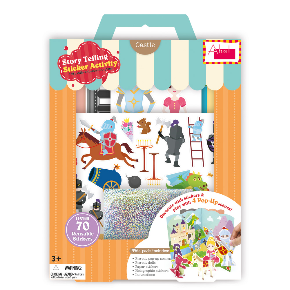 Aha Designs Story Telling Sticker Activity Educational Toys