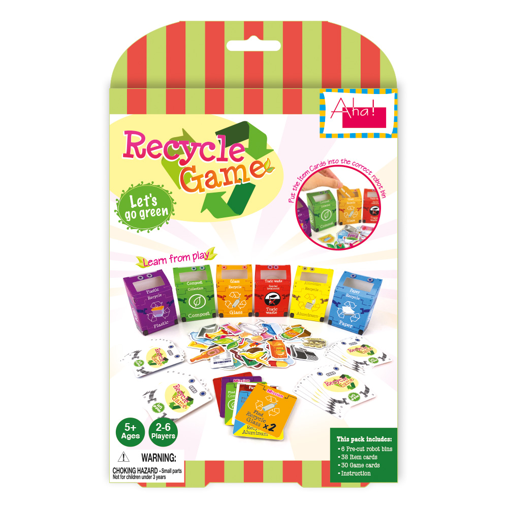Recycle Game Educational Toy manufactured by Advance Label Limited