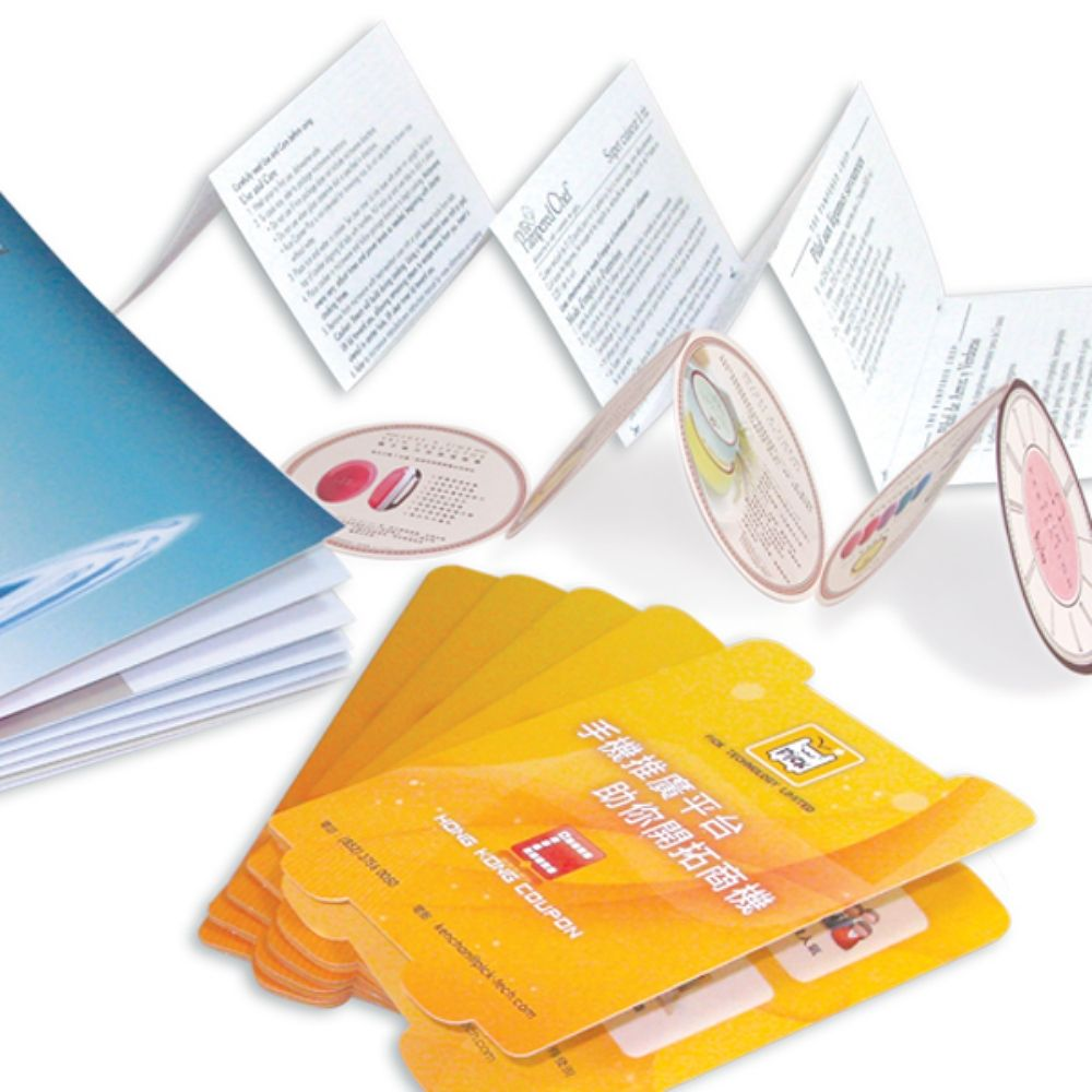 Booklets, leaflets, brochures for Advertising, Promotion, Sales Boosting and Marketing Events