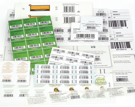 Barcode Label Sticker