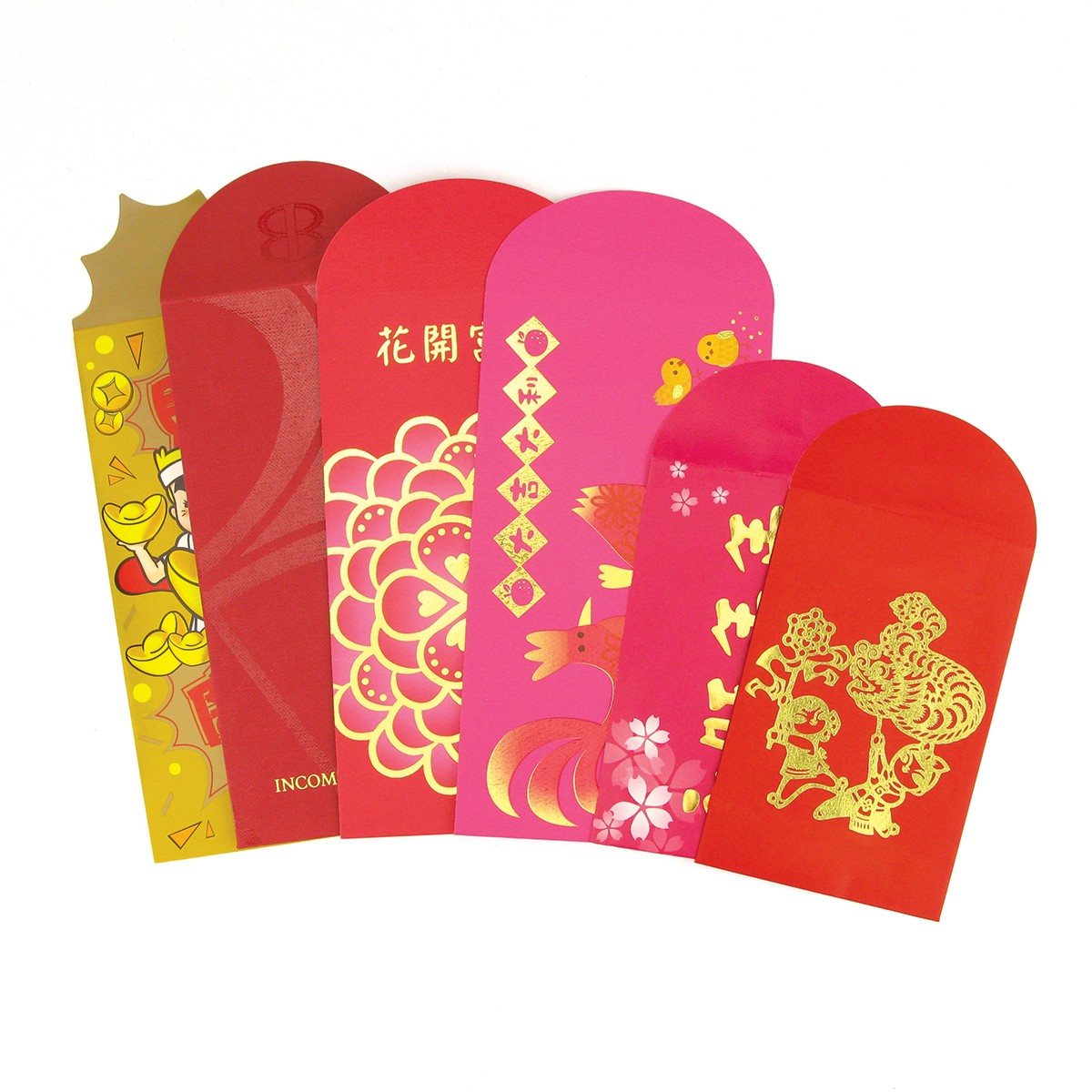 Custom Red Pocket Corporate Gift for Chinese New Year