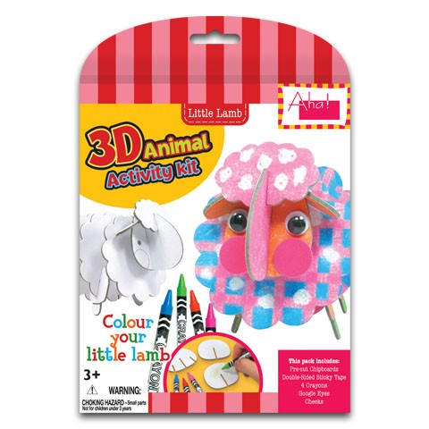 3D Animal Activity Kit